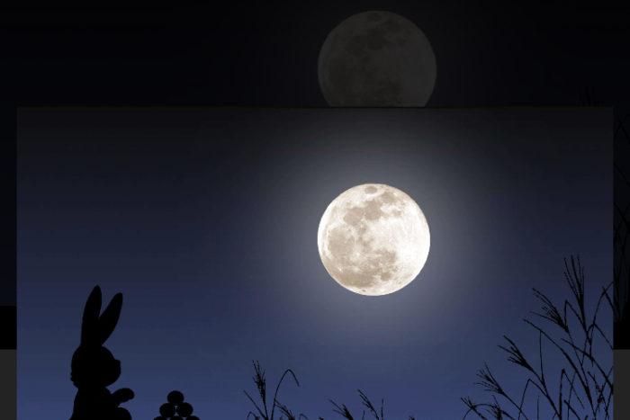 お月様が綺麗でしたね