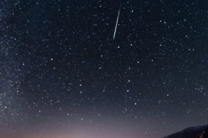 夜空に流星群☆